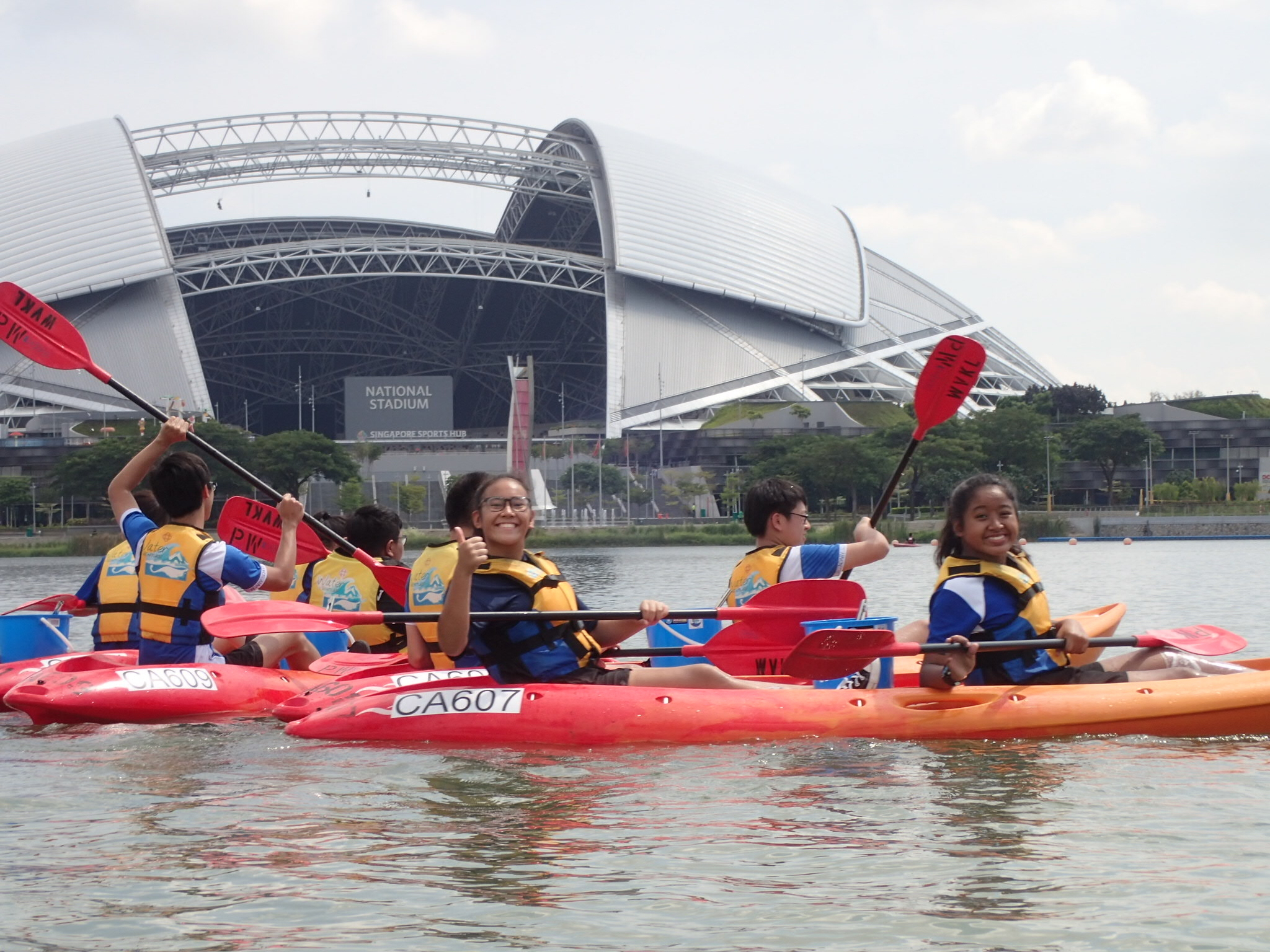 Being part of the scenic Singapore icons were part and parcel of the Sec 3s activities.JPG